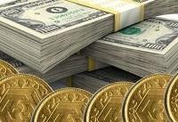 دلار صعودی و سکه نزولی شد (+جدول)
