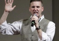 Nazi website Daily Stormer urged followers to target black and Jewish centres during Richard ...