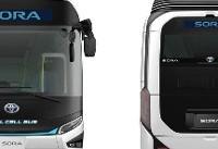 تولید اتوبوسهای هیدروژنی تویوتا برای بازیهای المپیک ژاپن (+عکس)