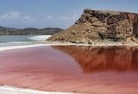 کاهش مساحت دریاچه ارومیه در ۲ هفته گذشته