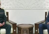 رئیس ستادکل نیروهای مسلح ایران با بشار اسد دیدار کرد