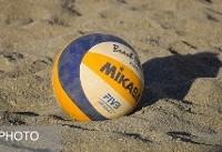 تور آسیایی والیبال ساحلی/ ایران