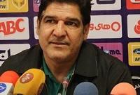 مهاجری: چمن ورزشگاه سردار جنگل سرعت فوتبال ما را گرفت/ روی دو اتفاق گل خوردیم
