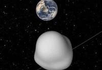 گذر یک سیارک به اندازه اتوبوس از کنار زمین!