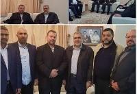 سفر «هیاتی بلندپایه از رهبران حماس» به تهران