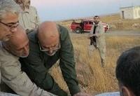 دیدار باقری از «مناطق عملیاتی» جنگ در حلب سوریه