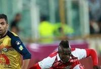 صعود پرسپولیس در جام حذفی فوتبال ایران