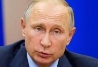 Putin dials up anti-U.S. rhetoric, keeps mum on re-election