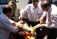مصدومیت ۴ دانشآموز روستایی در حادثه تصادف/۲ نفر از ناحیه گوش و پا آسیب دیدند+اسامی