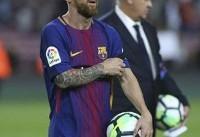 برنامه بارسلونا برای تمدید مادامالعمر قرارداد مسی
