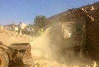 ریزش تپه بر روی یک واحد مسکونی در اهواز/۲ فوتی، ۴ مصدوم و ۱ مفقودی+فیلم