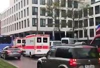 حمله با سلاح سرد در آلمان + فیلم