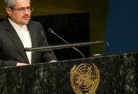 Iran nuclear deal not renegotiable: Iran's ambassador to UN