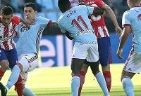اتلتیکو موقتا از رئال مادرید سبقت گرفت