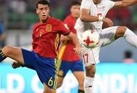 وداع تیم فوتبال نوجوانان ایران با جام جهانی ۲۰۱۷ هند
