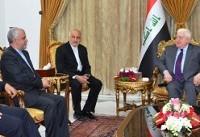 رئیس جمهوری عراق: از توسعه روابط تجاری با ایران استقبال می کنیم