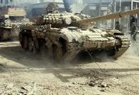 خطوط دفاعی داعش در ساحل شرقی رود فرات در هم شکسته شد