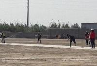 مسابقات کریکت بانوان قهرمانی کشور در گرگان آغاز شد