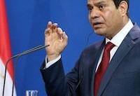 عبدالفتاح السیسی میگوید مصر برای کاهش تنش با  ایران تلاش میکند