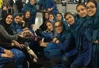 بازگشت دختران بسکتبالیست به جدول مسابقات