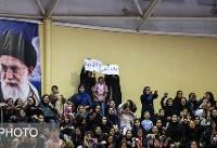 مدبر: مشکل زیرساختی برای حضور بانوان در استادیوم آزادی نداریم