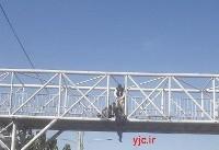 خودکشی نافرجام دختر جوان در پایتخت + عکس