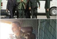 فرماندهان کل ارتش و سپاه در راه کرمانشاه