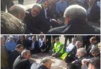 حضور وزیر کشور در مناطق زلزلهزده سرپل ذهاب (عکس)