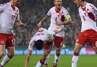 صعود مقتدرانه دانمارک به جام جهانی/ مسافر سیام مشخص شد