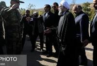 ویدئو / حضور روحانی در جمع زلزلهزدگان غرب کشور