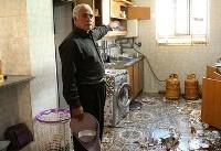 روستاه های زلزله زده کرمانشاه (عکس)