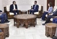دیدار معاون وزیر خارجه ایران با بشار اسد
