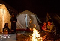 زلزلهزدههای کرمانشاهی در انتظار سرپناه گرم
