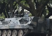 The Latest: African Union backs regional efforts in Zimbabwe