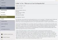 پنج سناتور آمریکایی خواستار تسهیل کمک به زلزلهزدگان کرمانشاه شدند