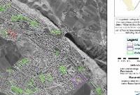 اولین تصویر ماهوارهای پردازش شده توسط سازمان فضایی ایران از مناطق زلزلهزده در ایران و عراق