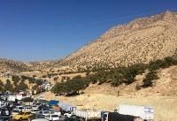 محدودیت ترافیکی در منطقه زلزلهزده سرپلذهاب/تردد خودروهای بومی و امدادی