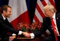 توافق روسای جمهور آمریکا و فرانسه علیه ایران و حزبالله
