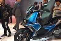 رونمایی از جدیدترین موتورسیکلت اسکوتر BMW در میلان + تصاویر