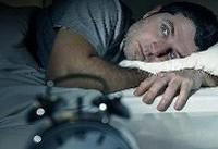استرس زیاد موجب اختلال خواب می شود