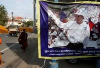 Cambodia faces U.S., EU action after banning opposition