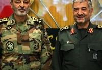 استمرار بازدید فرماندهان کل ارتش و سپاه از مناطق زلزله زده غرب