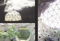 سازه ای که در برابر زلزله ۸.۵ ریشتری مقاوم است+عکس