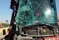 ۵ کشته و یک مجروح در ۲ حادثه اتوبوس