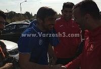 آشتی کنان بزرگ هفته : رحمتی و حسینی! +عکس