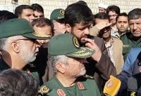 سرلشکر جعفری: به خادمی ملت افتخار میکنیم/ اسکان موقت زلزلهزدگان ...