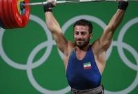 کیانوش رستمی پرافتخارترین وزنهبردار حاضر در مسابقات جهانی ۲۰۱۷