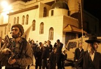 Israeli Jews hold rare prayers at West Bank holy site