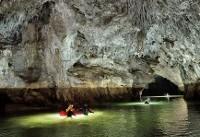 تصاویری خیرهکننده از غارهای زیرزمینی