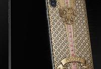عرضه «آیفون ایکس» لوکس با بدنه طلا و ۳۰۰ قطعه الماس (+عکس)